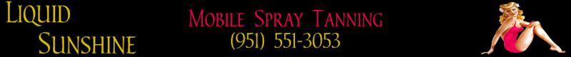 Mobile Spray Tanning by Liquid Sunshine Tan